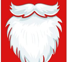 Santa Beard Chrismas  iPhone Case ,Casing 4 4s 5 5s 5c 6 6plus Case - Santa Beard Chrismas Samsung case s3 s4 s5 by procase