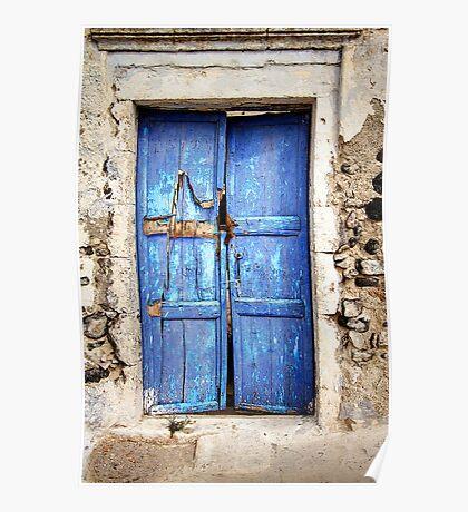 The Old Blue Door Poster