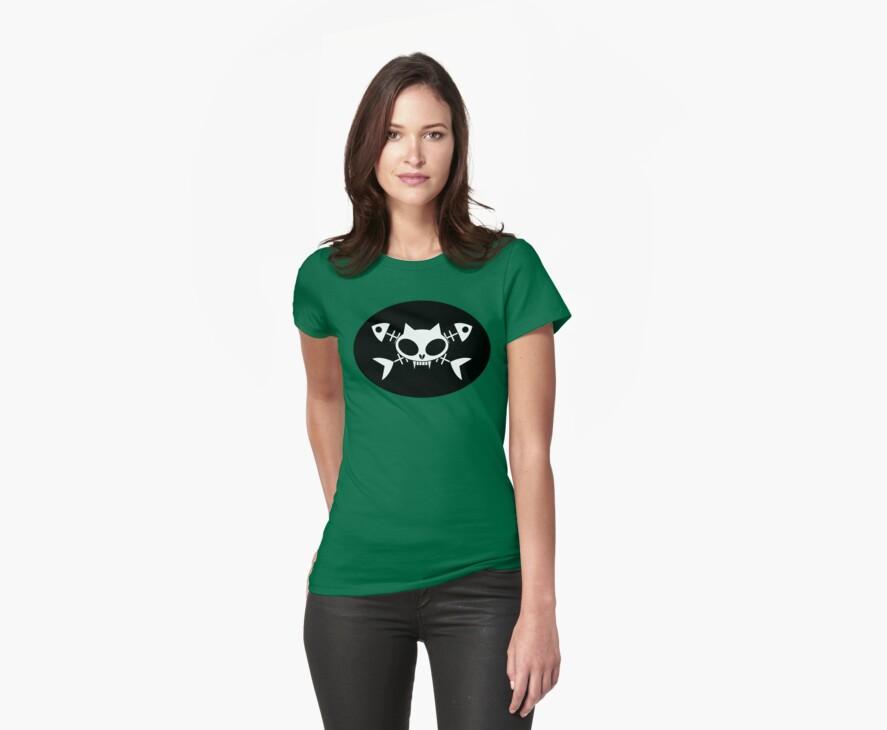 Kitty skull by Jacqueline Gwynne