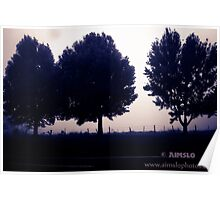 3 Trees Poster