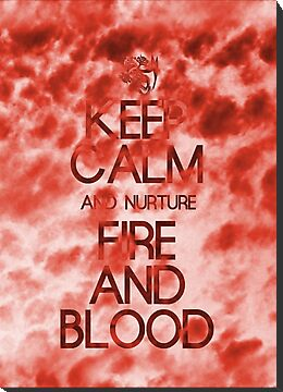 KEEP HOUSE TARGARYEN CALM by amanoxford