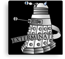 Extermination Canvas Print