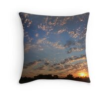Sunrise 8/21/2012 Throw Pillow