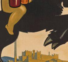 Vintage poster - Feldschlosschen Bock Sticker