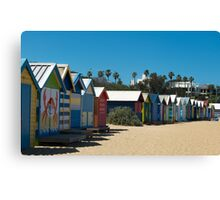 Bathing Boxes  Canvas Print