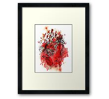 Turmoil in October Framed Print