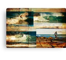 Surf Addicts Canvas Print