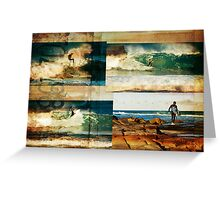 Surf Addicts Greeting Card