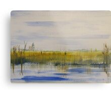 Norfolk Marshes Metal Print