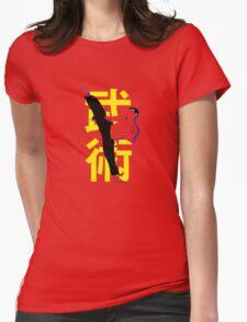 Wushu - Kungfu - Kicking Man Womens T-Shirt