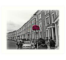 London Blooms - 2012 Art Print