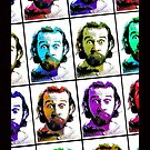 George Carlin Andy Warhol Style by YabuloStore919