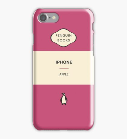 Iphone Penguin Classic Case - Pink iPhone Case/Skin