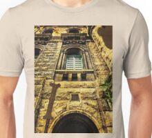Grungy Melbourne Australia Alphabet Letter I Royal Melbourne Institute of Technology Unisex T-Shirt