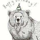 Birthday Bear by Ellen Stubbings