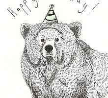 Birthday Bear by Ellen Stubbings