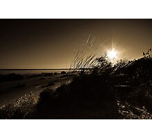 Australian Coastal Sunset  Photographic Print