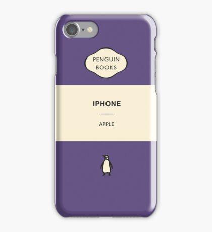 Iphone Penguin Classic Case Purple iPhone Case/Skin