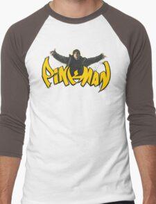 PiNKMAN Men's Baseball ¾ T-Shirt