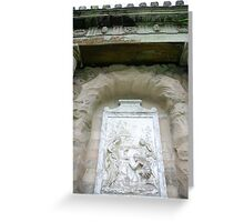 The Monument (ET IN ARCADIO EGO)  Greeting Card