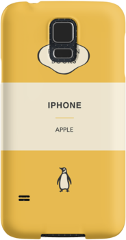 Iphone Penguin Classic Case Gold by Simon Westlake
