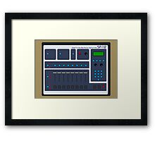 SP-12 Framed Print