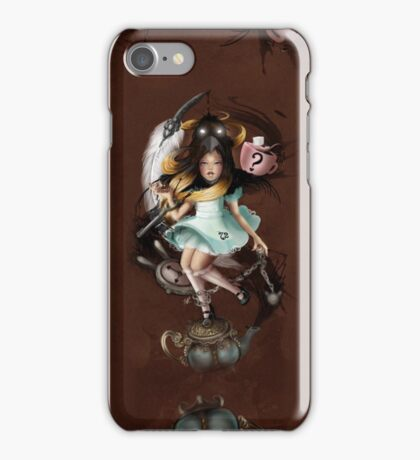 Girl 72 | WHy iS a RaVen LiKe a WRiTinG DeSk? iPhone Case/Skin