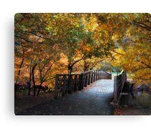 Autumn Overpass Canvas Print