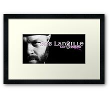 Rob Langille: Art, Interrupted Framed Print