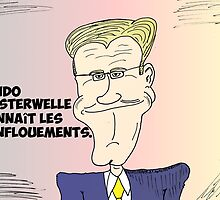 Caricature de Guido WESTERWELLE by Binary-Options