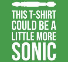 Sonic T-shirt One Piece - Short Sleeve