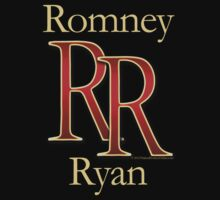RR Romney Ryan Luxury Look T-Shirt Kids Tee