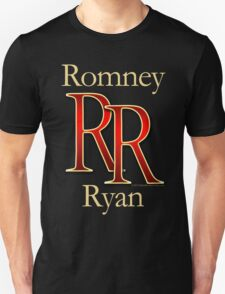 RR Romney Ryan Luxury Look T-Shirt Unisex T-Shirt