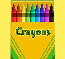 Crayons! - Now with 9 colours! by tjhiphop