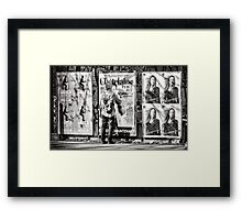 Male Issue Framed Print