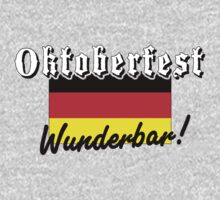 Oktoberfest Wunderbar T-Shirt by HolidayT-Shirts