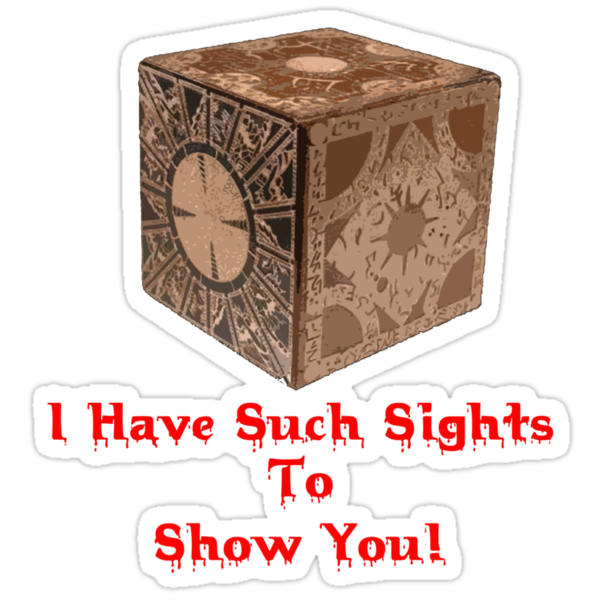 I Have Such Sights To Show You (T-Shirt & Sticker) by PopCultFanatics