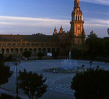 Plaza de España, Seville 2003 by Michel Meijer