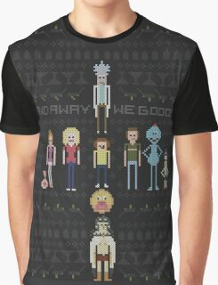 Rick and Morty Family Portrait DARK VERSION! Graphic T-Shirt