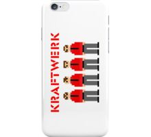 Kraftwerk 8-bit iPhone Case/Skin