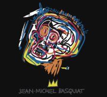 Jean Michel Basquiat Head One Piece - Long Sleeve