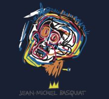 Jean Michel Basquiat Head Kids Tee