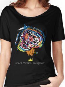 Jean Michel Basquiat Head Women's Relaxed Fit T-Shirt