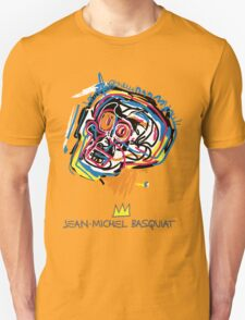 Jean Michel Basquiat Head T-Shirt