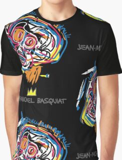 Jean Michel Basquiat Head Graphic T-Shirt