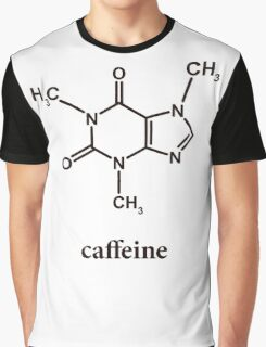 Caffeine Molecule Graphic T-Shirt