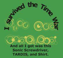 Time War Survivor Kids Clothes