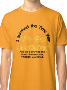 Time War Survivor Classic T-Shirt