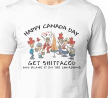 Funny Canada Day Drinking T-Shirt Unisex T-Shirt