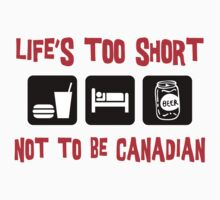 Funny  Canadian T-Shirt by HolidayT-Shirts